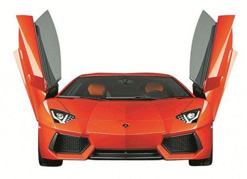 255.000 Euro plus Steuern sind für den Lamborghini Aventador LP 700-4 fällig. 1000 Kunden haben bereits bezahlt. Foto: Werk