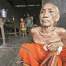 107-Jährige in Nordindien auf der Flucht