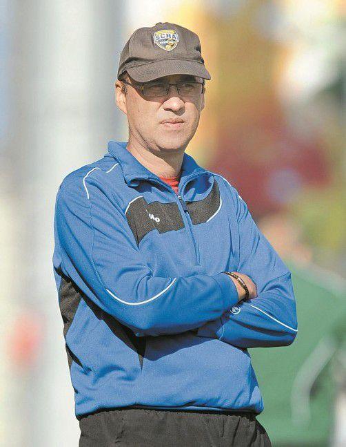"Altach-""Ausbildner"": Coach Peter Jakubec. Foto: stiplovsek"