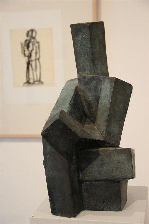 Arbeit von Josef Pillhofer (1921–2010). Foto: a. Grabher