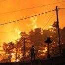 Kampf gegen Brände in Südeuropa dauert an