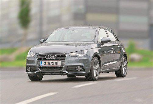 Audi A1 Sportback: In den Alltagsdisziplinen hat diese Version die Nase vorn. Fotos: vn/Steurer