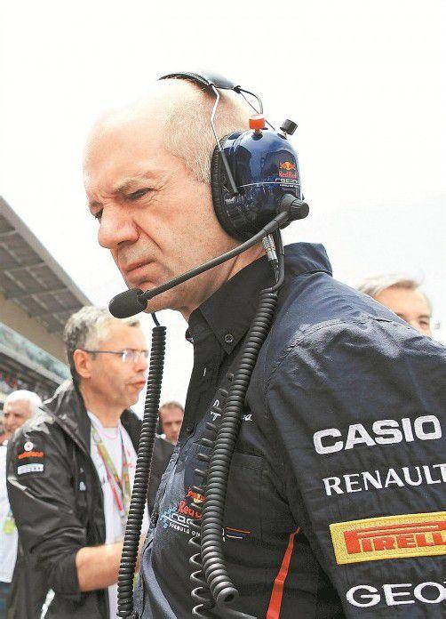 Auf Red-Bull-Hirn Adrian Newey wartet viel Arbeit. Foto: apa