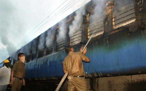 Ausgelöst wurde der Brand vermutlich durch einen technischen Defekt.  Foto: AP
