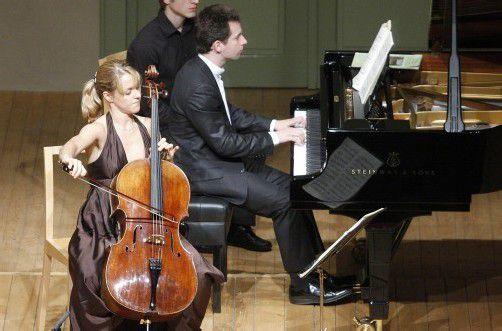 Ausgezeichnet: Cellistin Sol Gabetta. Foto: Schubertiade