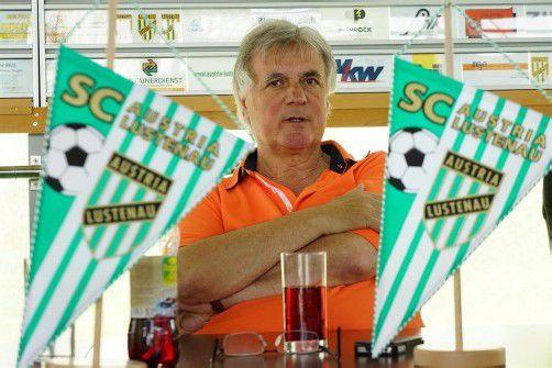 Sieht die Vertragssituation gelassen: Austria-Chef Hubert Nagel.