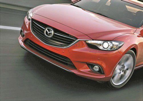Avantgardistisch im Design: der neue Mazda6. Fotos: werk