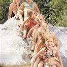 Badespaß in der Bregenzerach