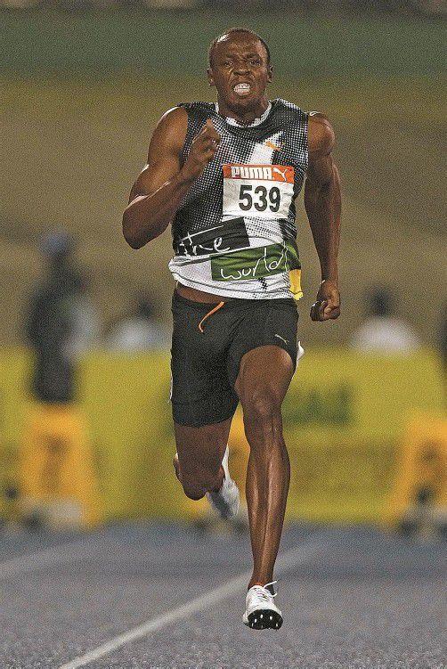 Bangen um seine Fitness: Usain Bolt. Foto: reuters