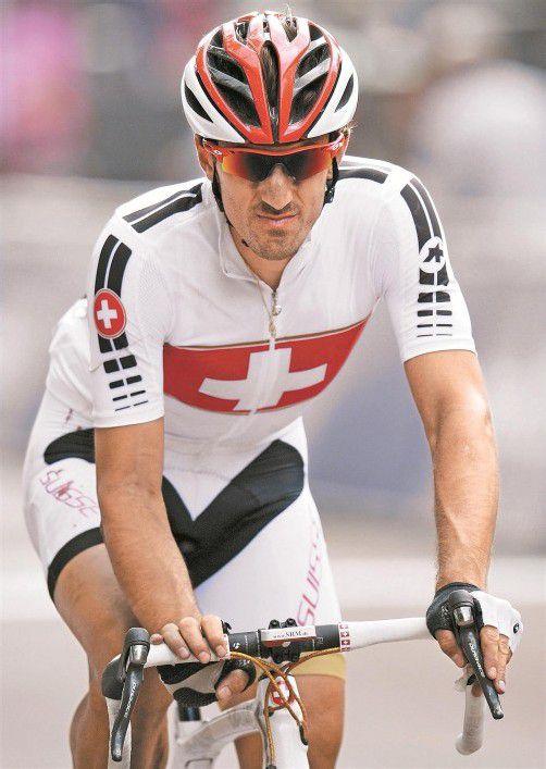 Beißt für das Zeitfahren auf die Zähne: Fabian Cancellara. Foto: ap