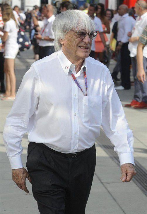 Bernie Ecclestone will dem insolventen Nürburgring helfen. AP