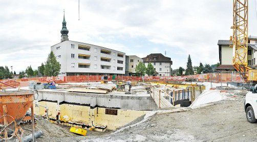 """Bis Herbst 2013 soll der """"KinderCampus"""" in Höchst fertiggestellt werden."""
