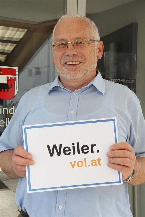 Bürgermeister und Mitglied der Agrargemeinschaft: Dietmar Summer.