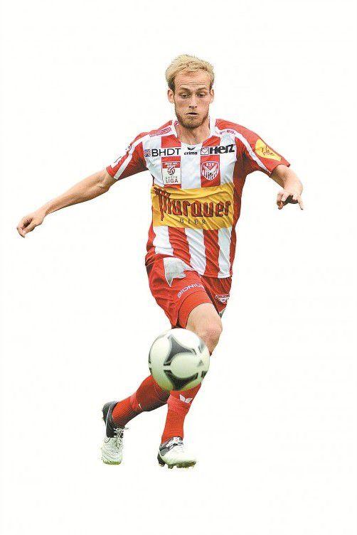 Danijel Micic spielte vor seinem Weggang nach Kapfenberg für die Austria. Nach einer Halbsaison beim WAC ist der 23-jährige Mittelfeldspieler zu den Steirern zurückgekehrt. Stiplovsek/gepa