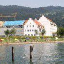 Dachgleiche für Haus am See