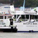 Kreuzfahrtschiff auf dem Rhein nach Brand evakuiert