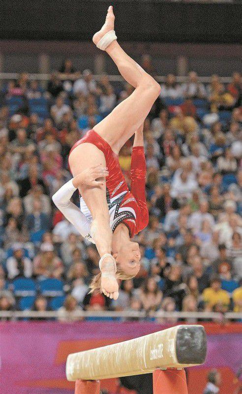 Das Olympia-Erlebnis bleibt: Barbara Gasser. Foto: ap