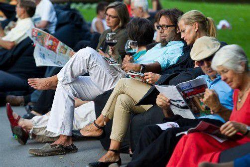 Das Stadtlesen gibt es bereits in 22 europäischen Städten. In Bregenz gastiert es diese Woche. Foto: VN/Steurer
