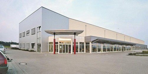 Das neue Logistic Center in Gallin bei Hamburg. Foto: Walser