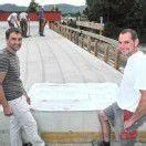 Brückenbau an der Frutz führt zu Umleitung