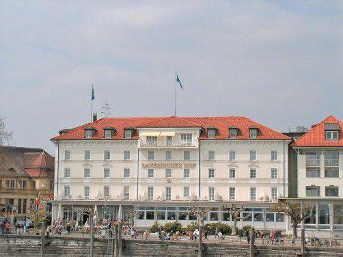 Der Bayerische Hof wird nach rund 150 Jahren neu errichtet.