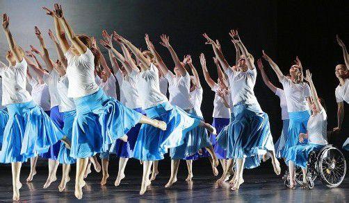 """""""Panta rhei"""". Die Uraufführung von Werken dreier Komponisten wurde zu einem einzigartigen Musik-Tanz-Projekt mit Künstlern aus der Region."""