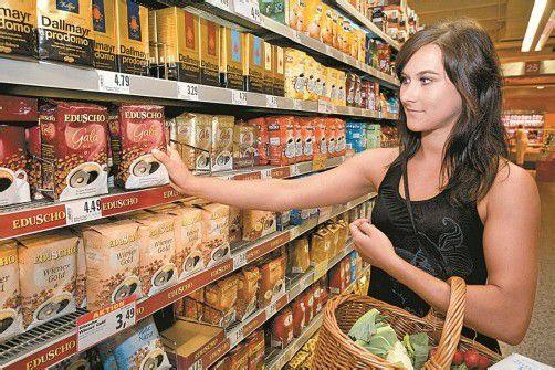 Der wöchentliche Einkauf wird durch die Inflation teurer.