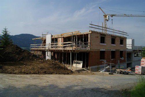 Die Fertigstellung der Wohnanlage in Buch erfolgt Anfang 2013.