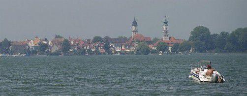 Die Frau wurde tot aus dem Bodensee geborgen. Foto: DAPD