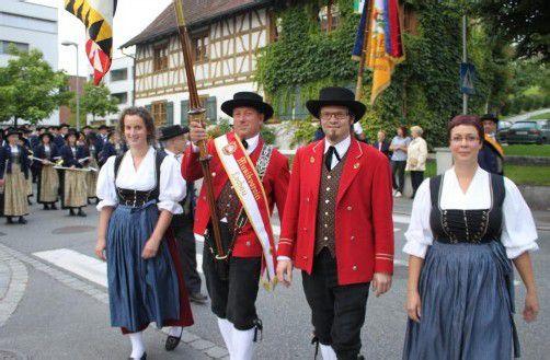 Die Lochauer Musikanten laden Jung und Alt zum traditionellen Dorffest in der Open-Air-Arena im Schulhof ein. foto: vn/BMS