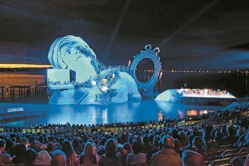 """Die Oper """"André Chénier"""" wurde auf der Bregenzer Seebühne zum Gesamtkunstwerk mit großer Wirkung. FotoS: VN/Steurer"""