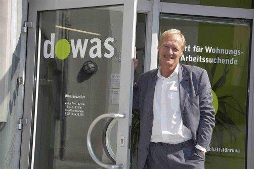 Dowas-Geschäftsführer Michael Diettrich fordert mehr gemeinnützige Wohnungen. Foto: VN/Paulitsch