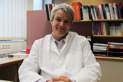 Dr. Wolfgang Grabher zieht bald ins Landhaus um. Foto: vol.at