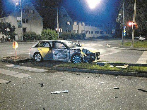 Ein Unfall mit Blechschaden.   Foto: Leserreporter