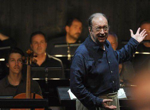 Erfüllte Erwartungen in Salzburg: Dirigent Harnoncourt. Foto: APA
