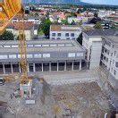 Bauarbeiten am BG Dornbirn auf Hochtouren