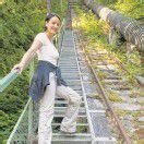 Rekordtreppe 3609 Stufen in Partenen /A6