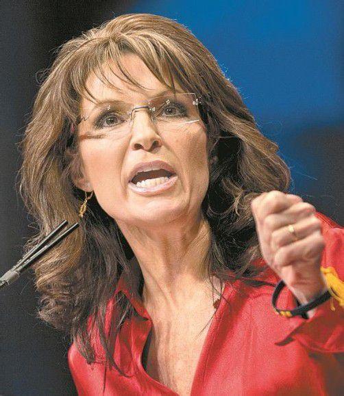 Ex-US-Vizepräsidentschaftskandidatin Palin. Foto: DAPD