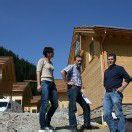 Walserdorf: Fünf Gebäude bereits errichtet