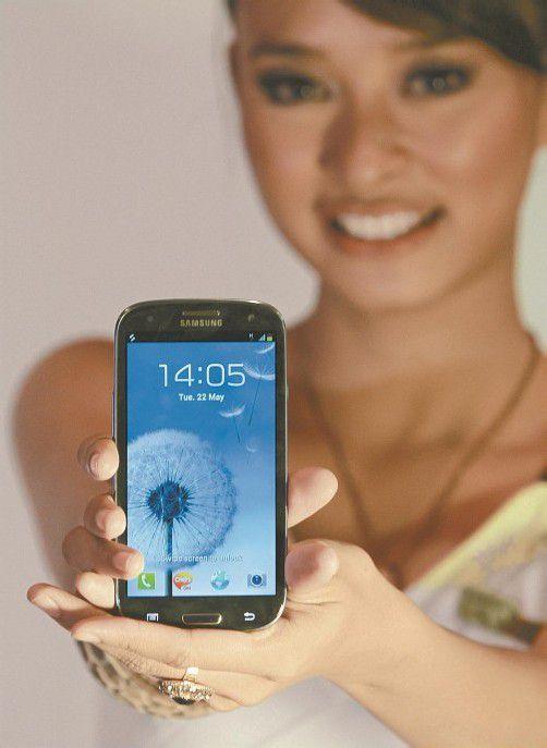 Galaxy S III: Bei einem Erfolg von Apple vor Gericht droht dem Samsung-Verkaufsschlager in den USA das Aus. Foto: ap