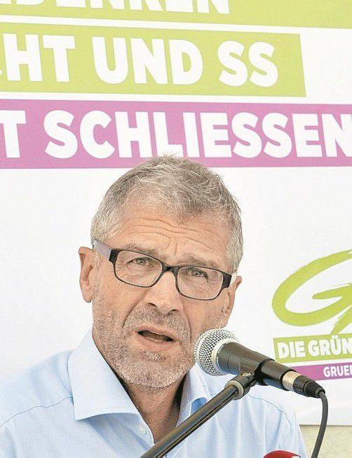 Gegen NS-Verehrung: Harald Walser von den Grünen. Foto: Dapd