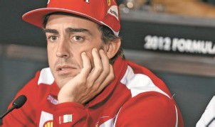 Alonso in Sorge um de Villota