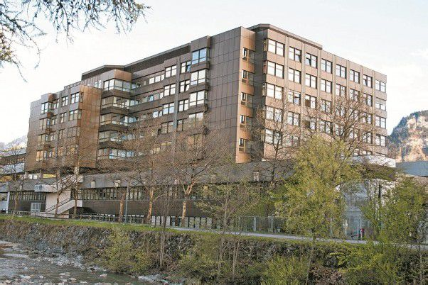 Gleich neben dem Krankenhaus Dornbirn soll die Triageordination entstehen.  Fotos: VN