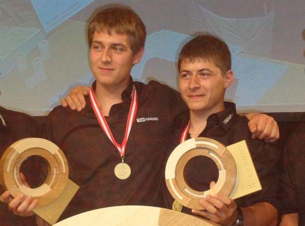 Gold für Stefan Feuerstein und Anton Kaufmann.