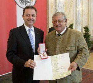 Große Ehre für einen Seilbahn-Pionier