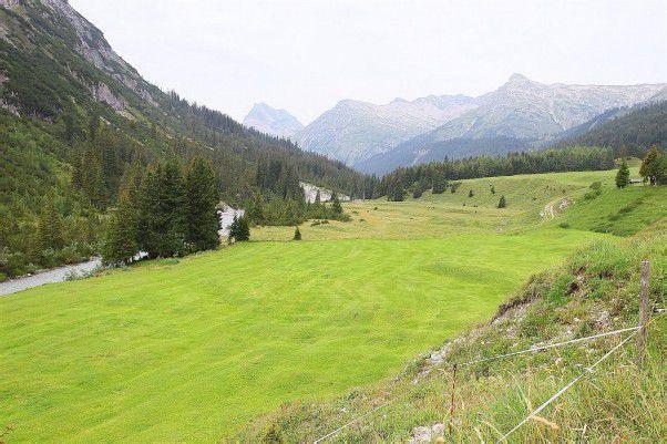 Golfplatzbau vor Start: In Zug bei Lech sollen die Pläne umgesetzt werden. Foto: VN/Hofmeister