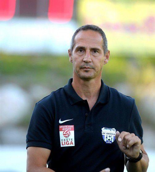Grödig-Coach Adi Hütter Gepa