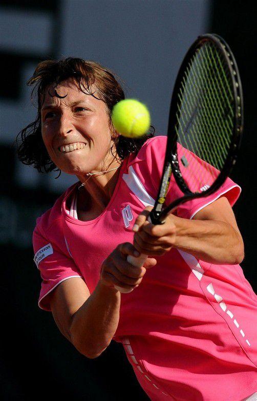 Steht im Viertelfinale in Mestre: Yvonne Meusburger. Foto: epa