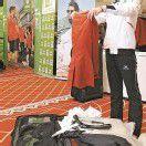 Olympia 2012. Die Vorarlberger im ÖOC-Team bei der Einkleidung in Wien für die XXX. Olympischen Sommerspiele in London