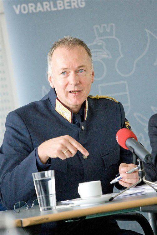 Hans-Peter Ludescher hat sich als Landespolizeidirektor beworben.